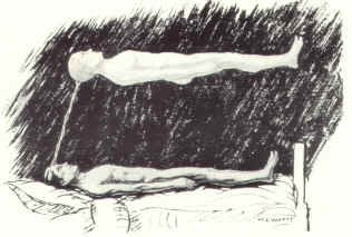 The Projection of the Astral Body. C. 1968. Executors of the late Sylvan Muldoon & Hereward Carrington.