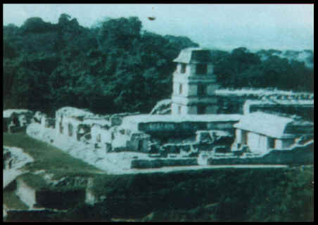UFO over Palenque, 21/3/91. C. 1996. UFO Reality