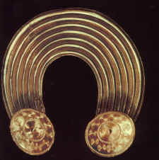 Druidic sunspot collar. Pi In The Sky. C. 1992. Michael Poynder